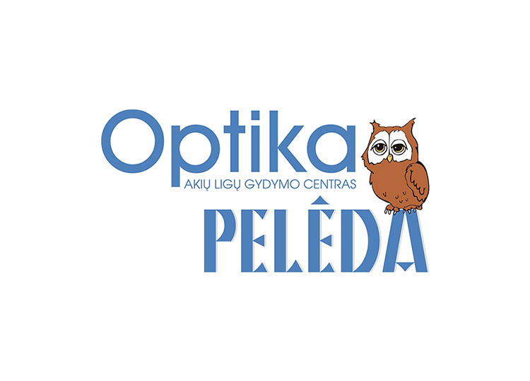 Optika peleda prekybos centre RIVER MALL
